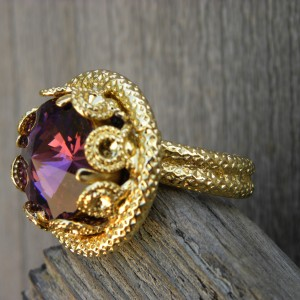 24 K GOLD MAHNOO RING