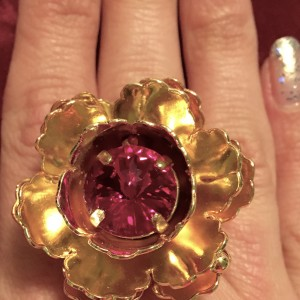 24 K GOLD FELORE RING
