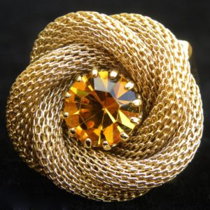 24 K gold Rose Mesh Ring