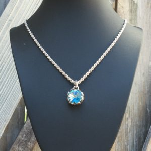 Filigree Crystal Necklace